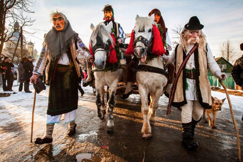 Фестивал Маланок в селе Красноильск