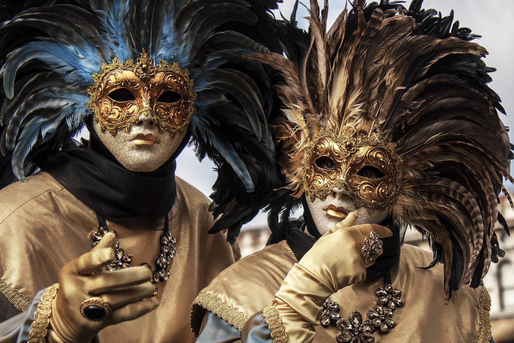 Карнавальные костюмы и маски - Венеция
