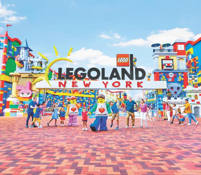 Леголенд в Нью-Йорке