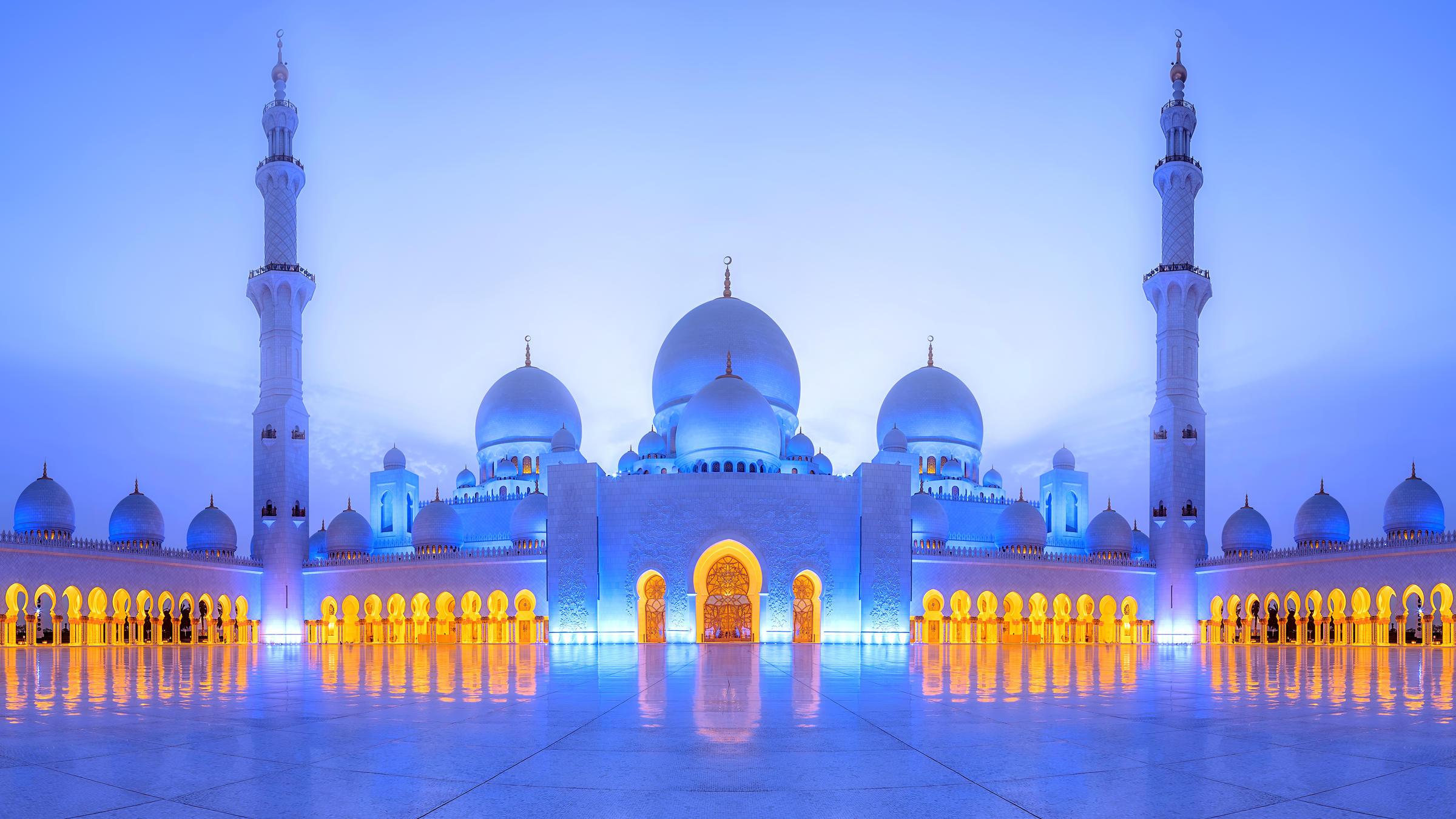 Белая мечеть дубай фото хилтон дубай аль мина