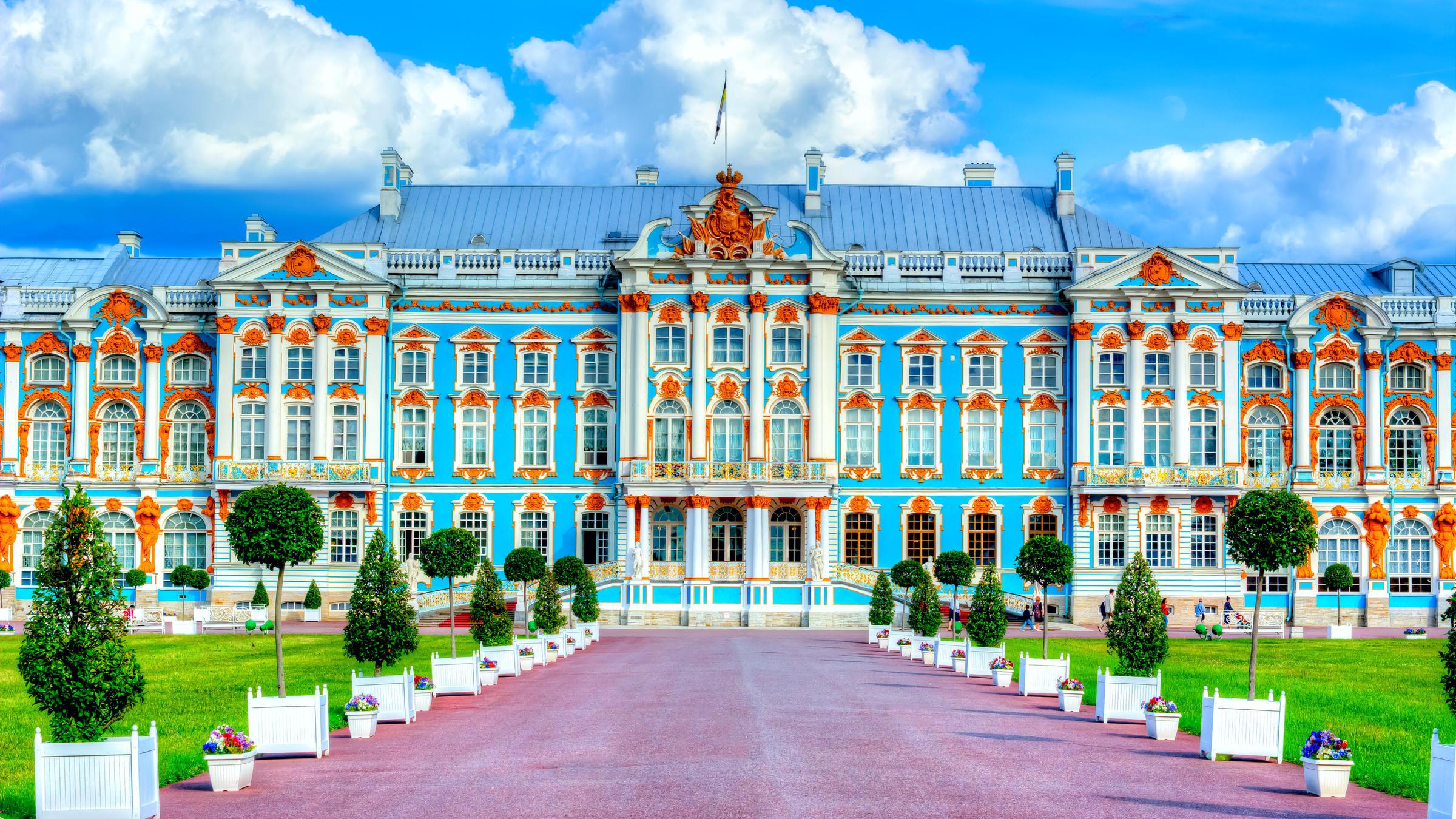 Музей-заповедник Царское Село и Большой Екатерининский дворец в Пушкине