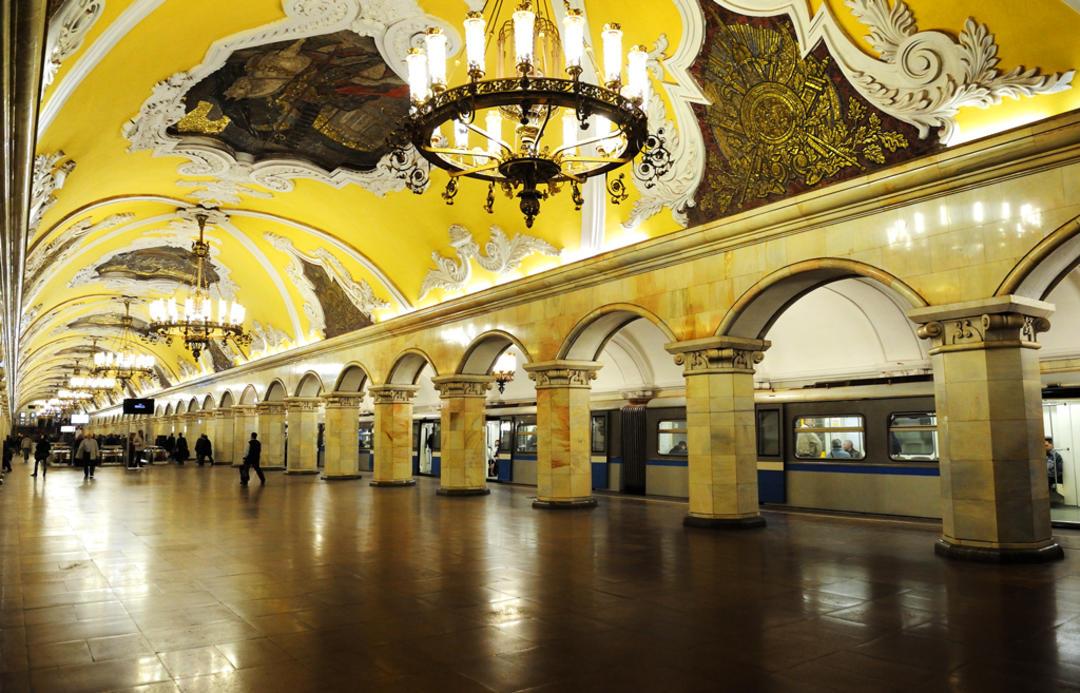 Московский метрополитен, станция Комсомольская