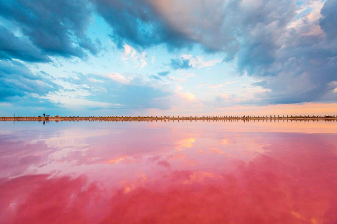 Возникновение озера Сасык