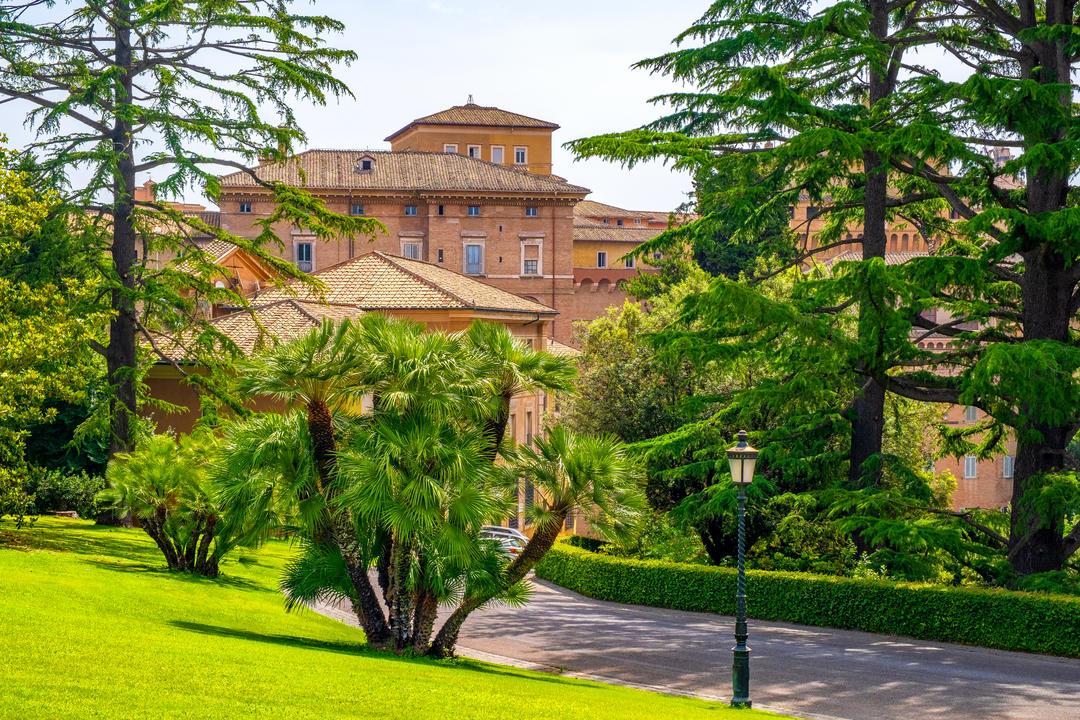 Внешний вид музеев Ватикана
