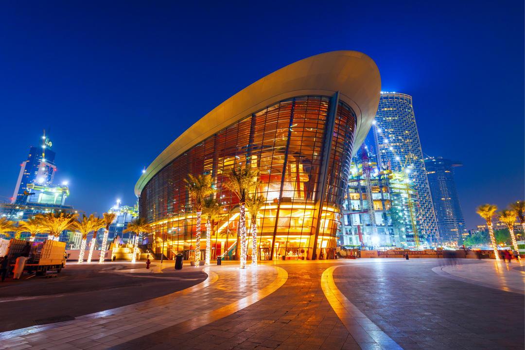 Дубайская опера - центр исполнительских искусств