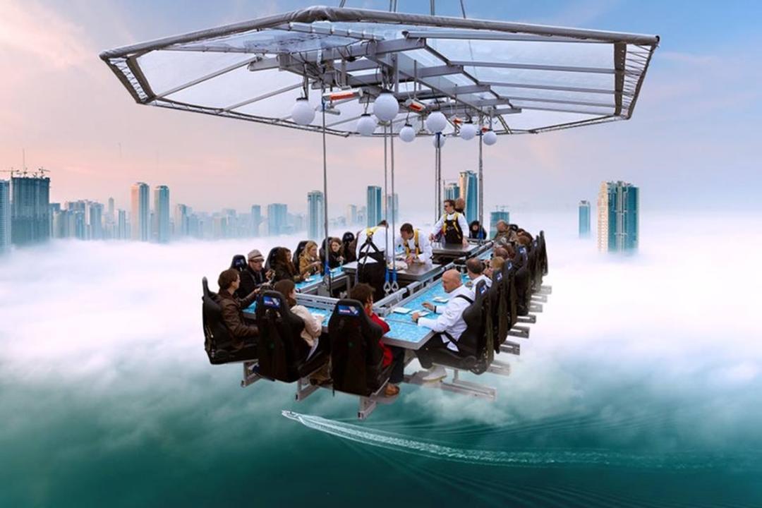 Ресторан в воздухе дубай дубай официальный сайт на русском языке