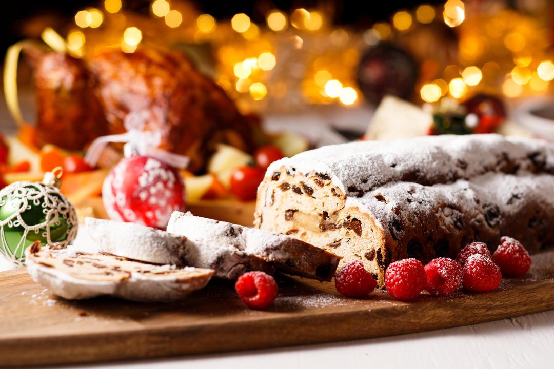 Stollen немецкий рождественский хлеб