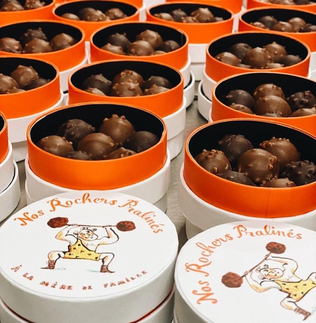 Коробки с шоколадными конфетами