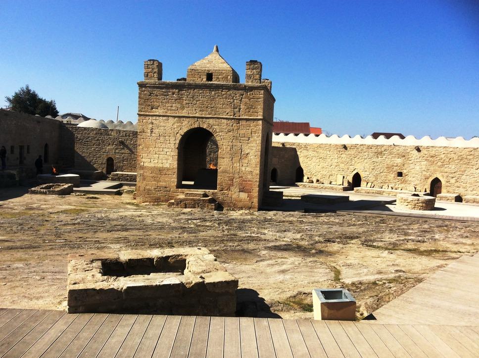 Атешгях в Баку