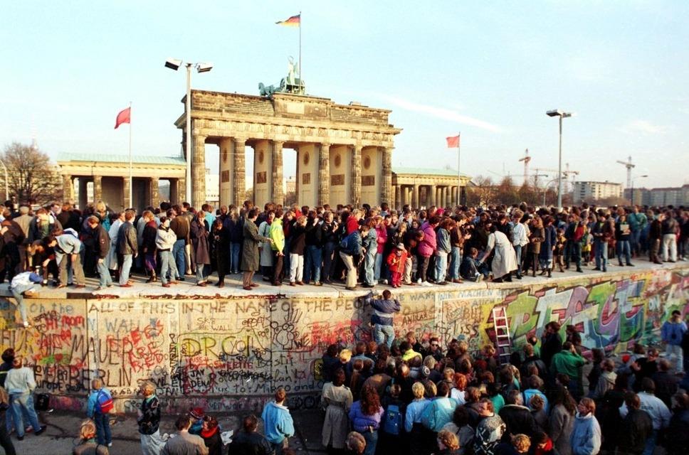 Берлинская стена 1989