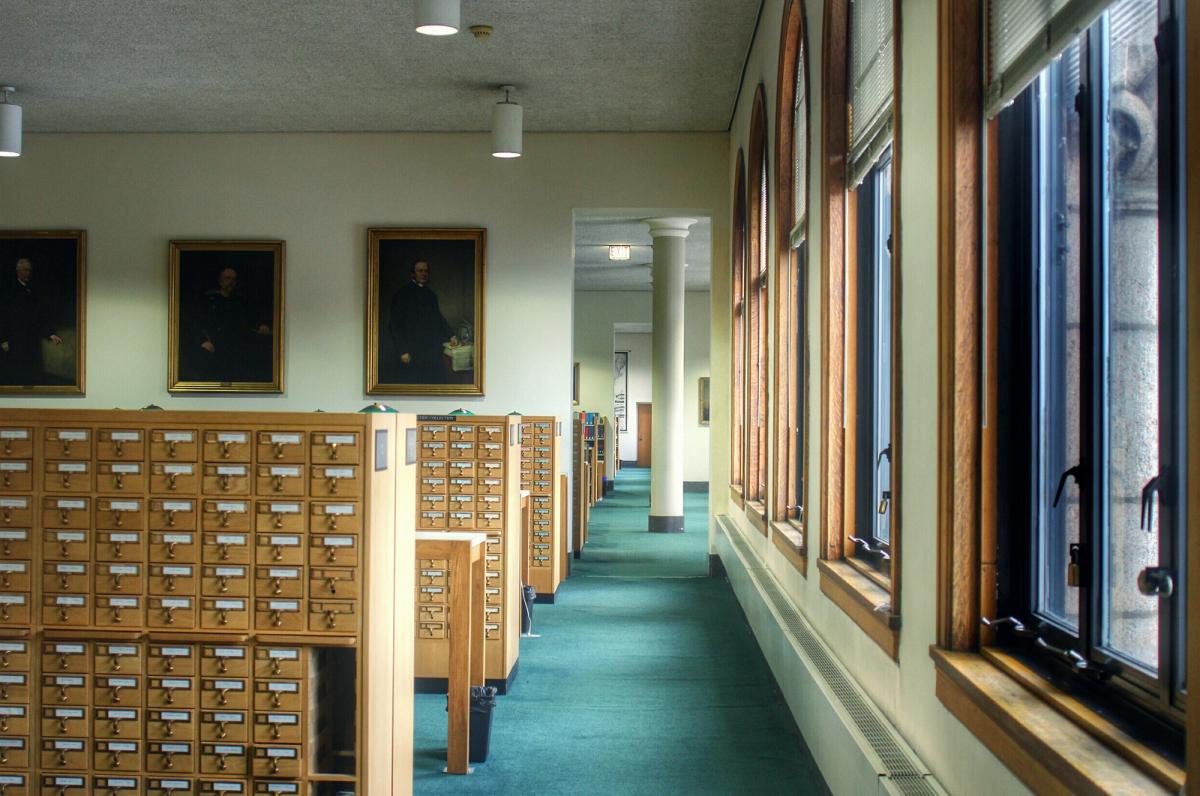 Библиотека Ньюберри в Чикаго