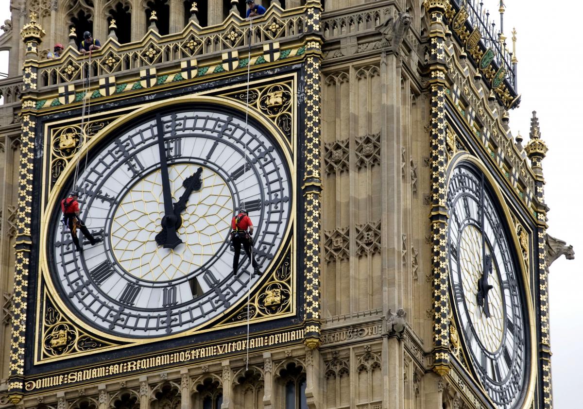 Часы биг бен в лондоне рисунок
