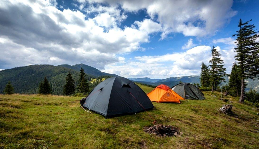 Гора Хомяк палатки