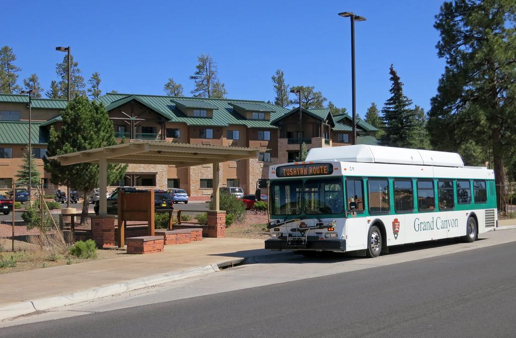 Национальный парк Гранд-Каньон - бесплатный автобус