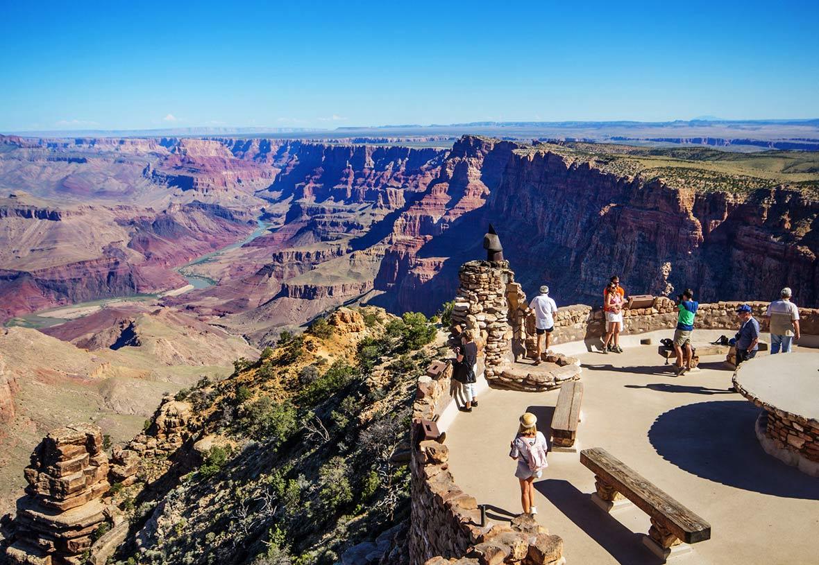 Большой каньон и Вид на пустыню