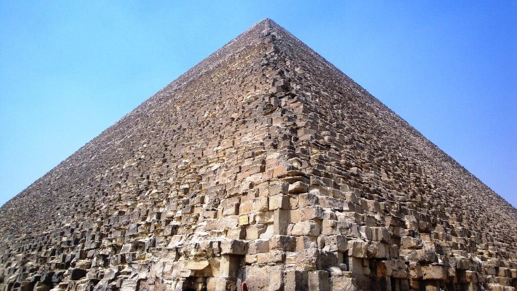 Пирамида Хеопса_камни