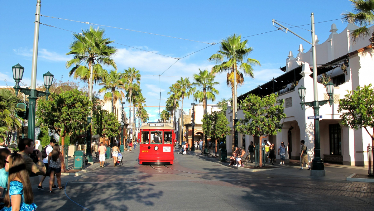 Buena Vista Street Диснейленд