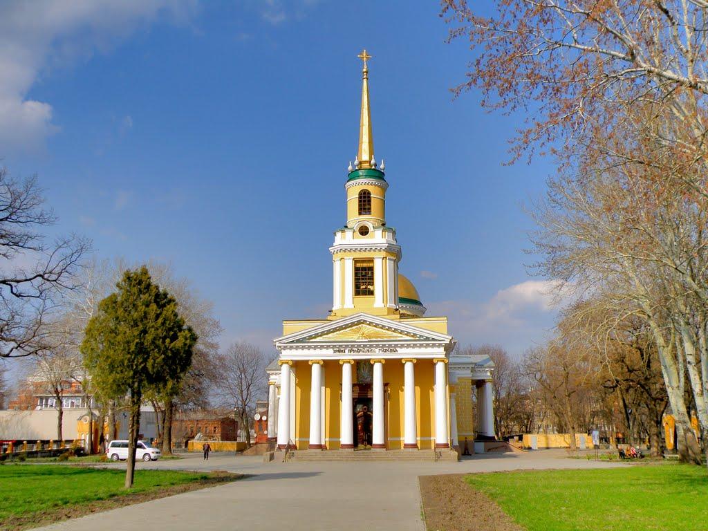 Спасо-Преображенский собор в Днепре