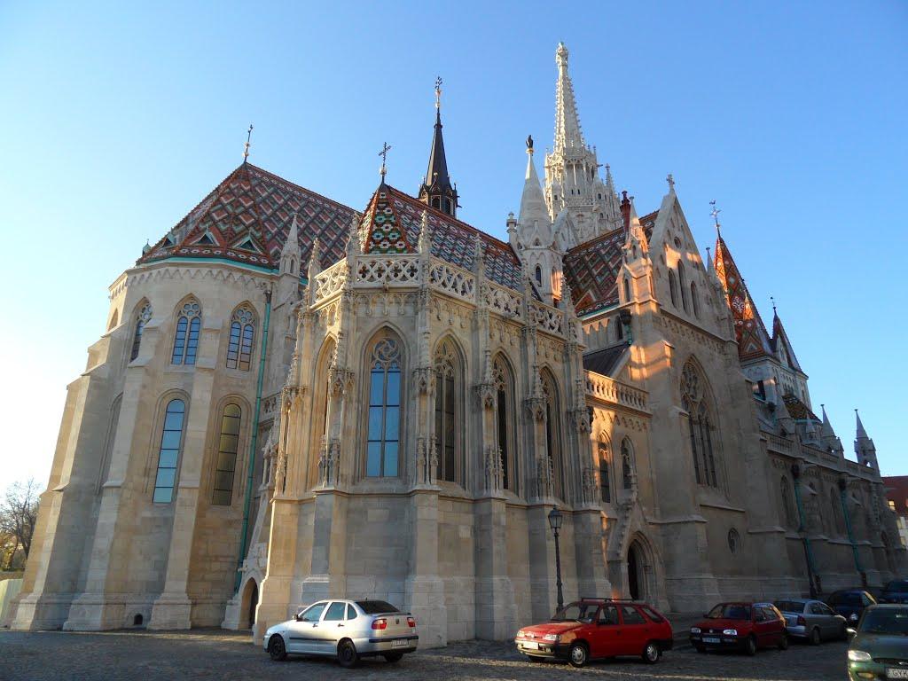 Обои будапешт, церковь святого матьяша. Города foto 17