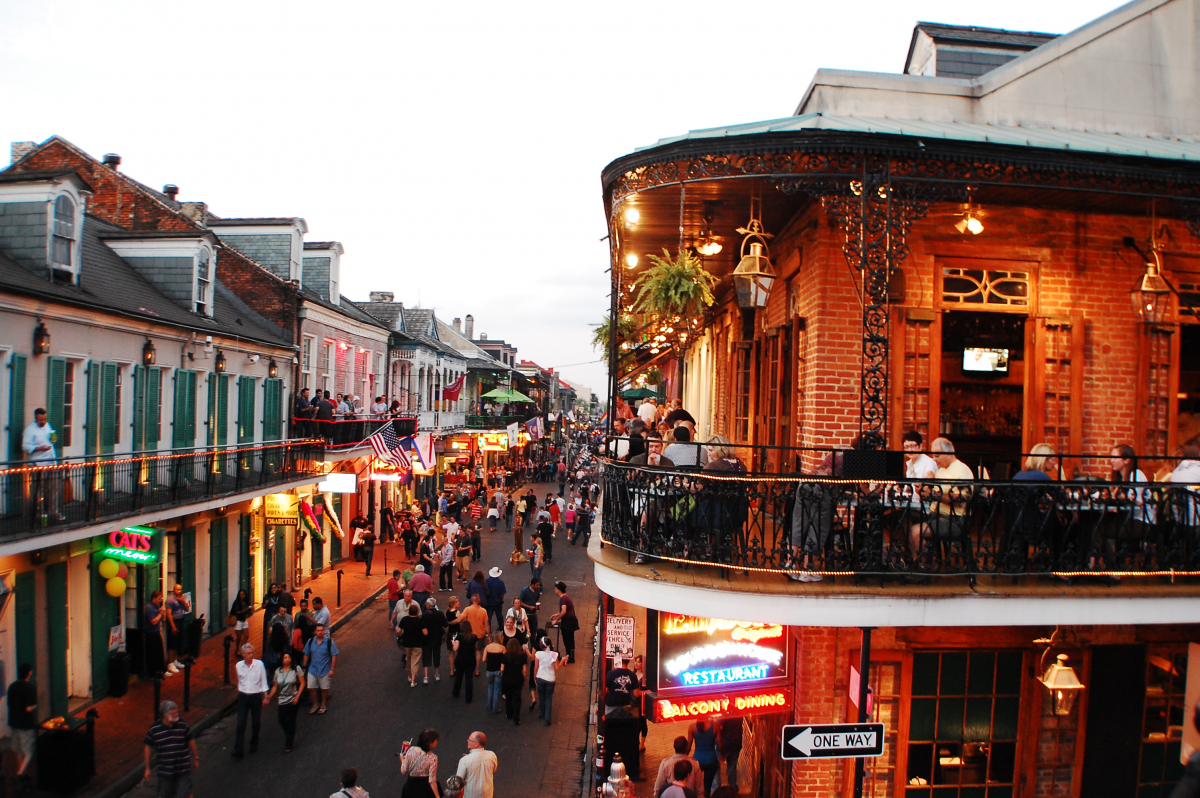 Car rentals in New Orleans