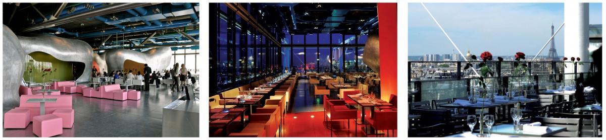 Центр Жоржа Помпиду ресторан