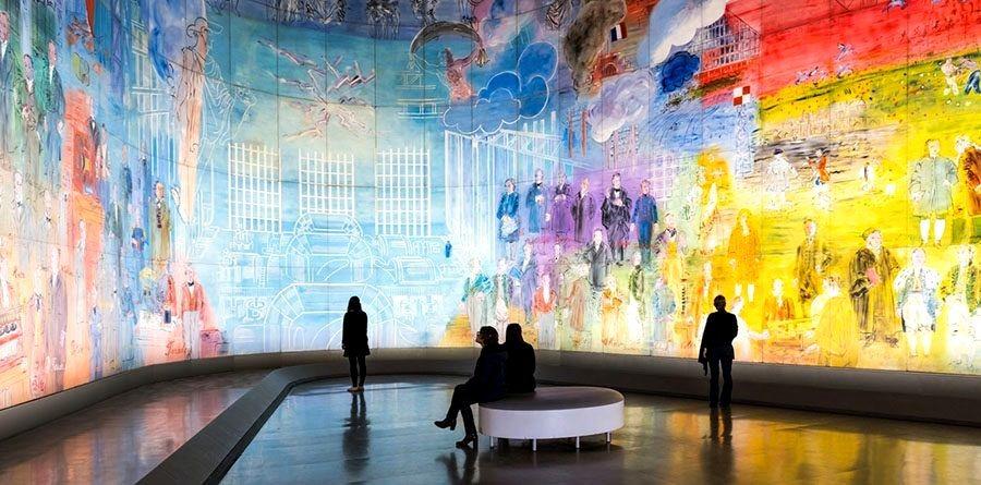 Центр Жоржа Помпиду галерея