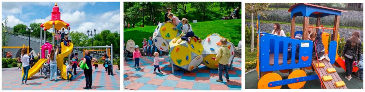 Стамбульский парк в Одессе детская площадка