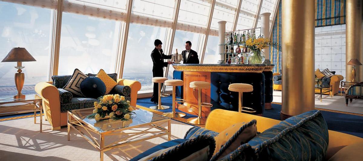 Сервис в отеле Бурдж-аль-Араб