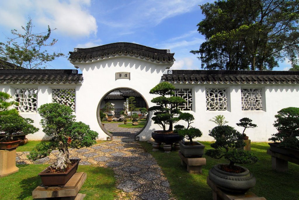 The Chinese Garden in Singapore