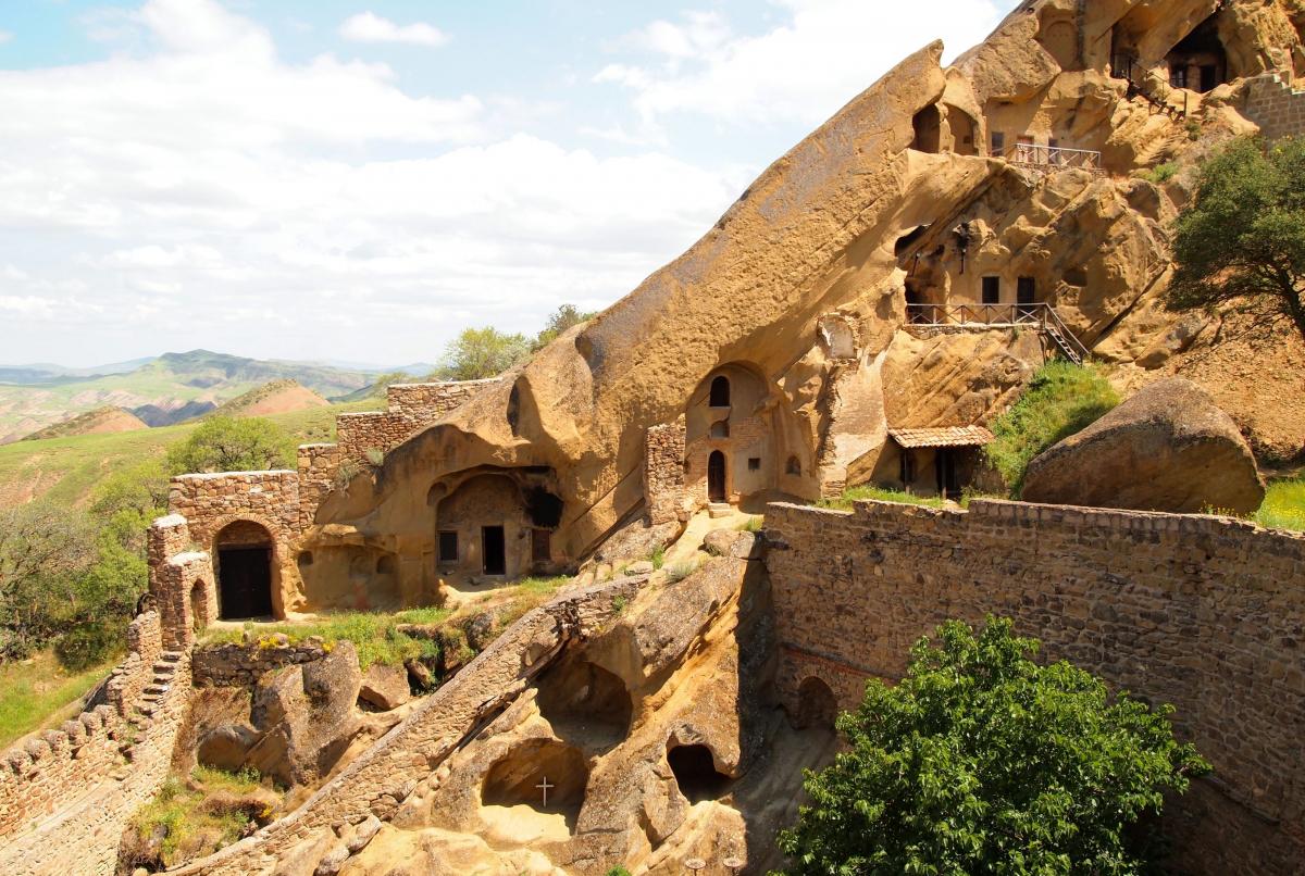 монастырь Удабно комплекса Давида-Гареджи
