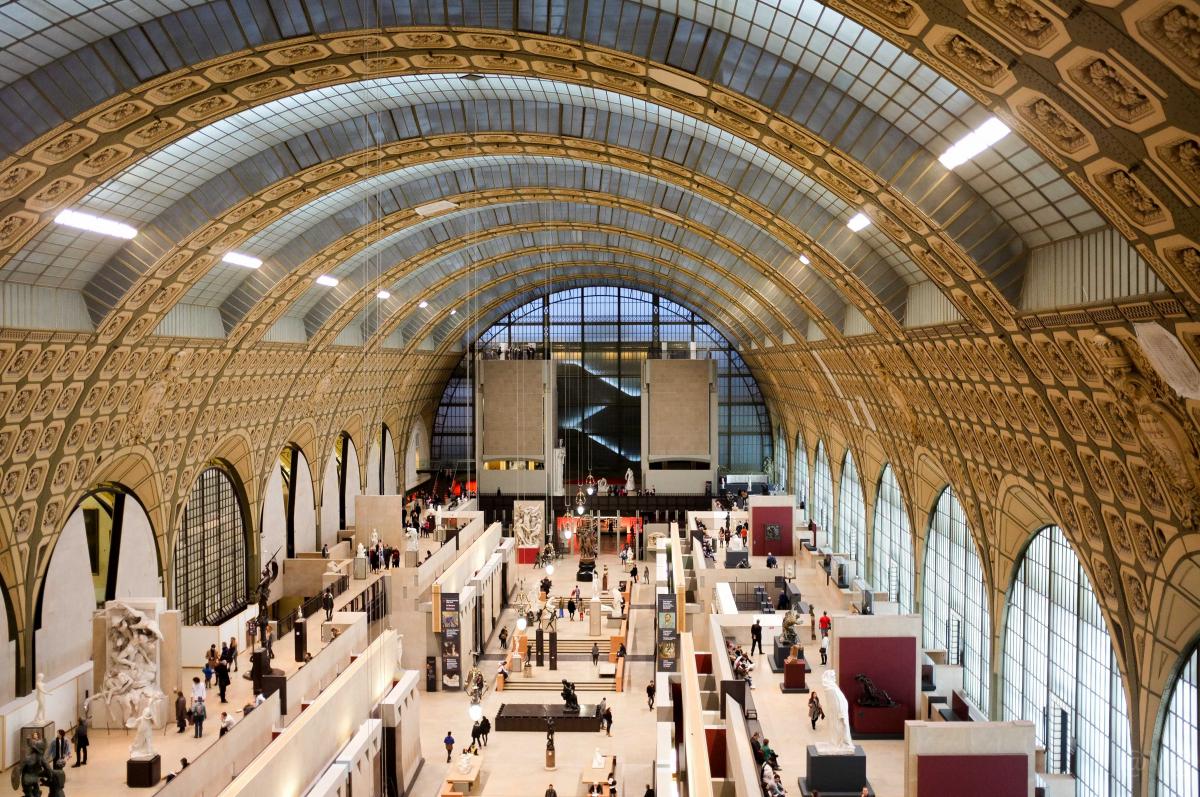 Музей Орсе в Париже: картины и экспонаты Musee d'Orsay