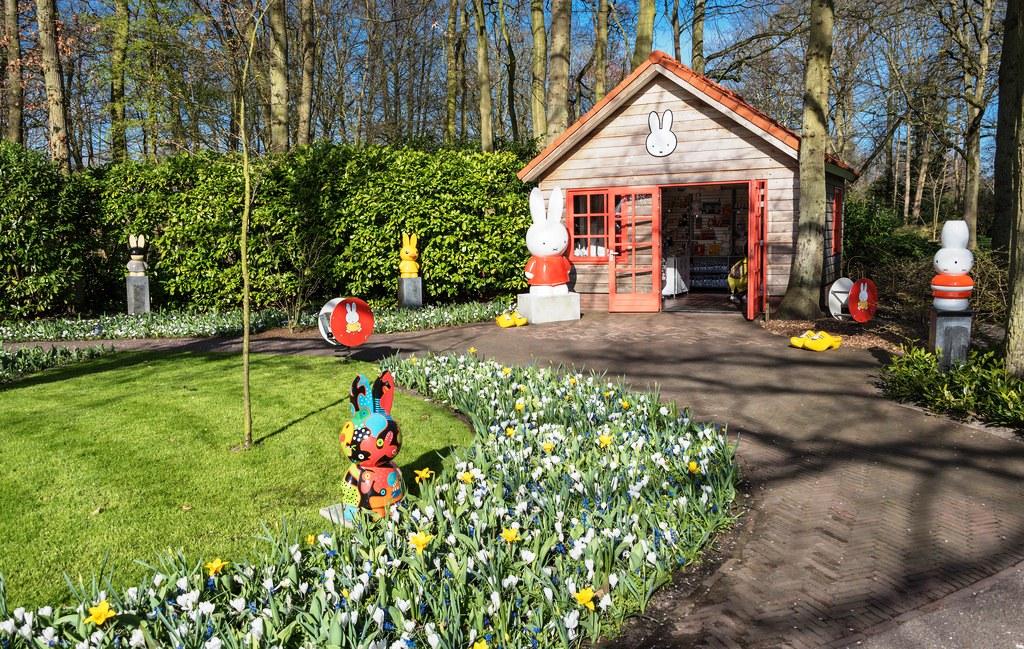 Парк Кекенхоф в Голландии
