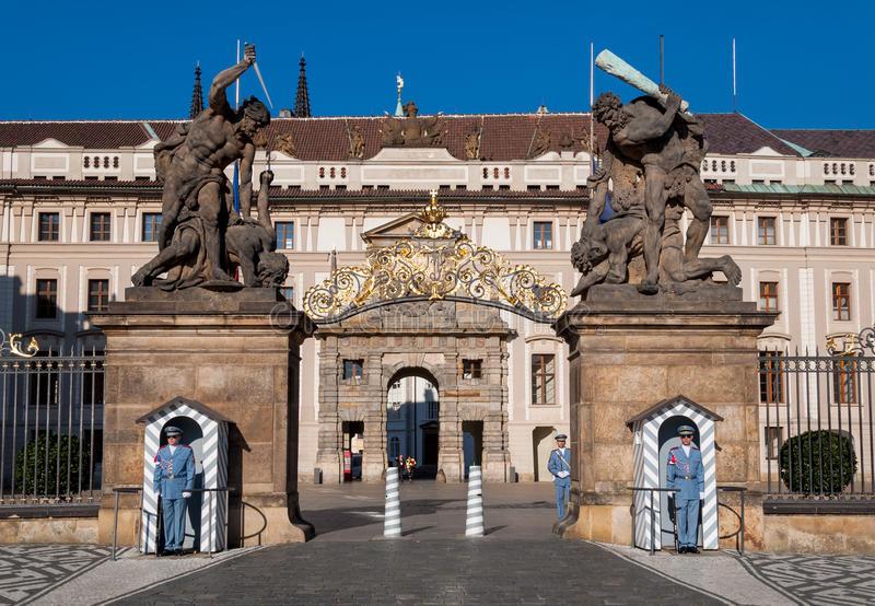 Центральный вход в Пражский Град