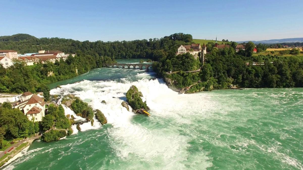 Картинки по запросу фото рейнского водопада