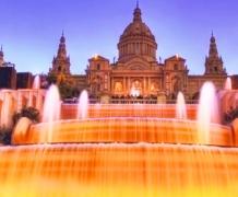 Магический фонтан Монжуик