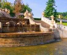 Сады замка Чески-Крумлов
