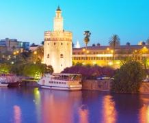 Золотая Башня в Севильи