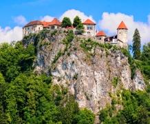Замок в Бледе