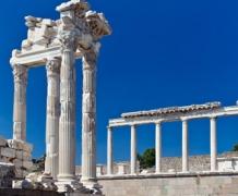 Руины города Пергам