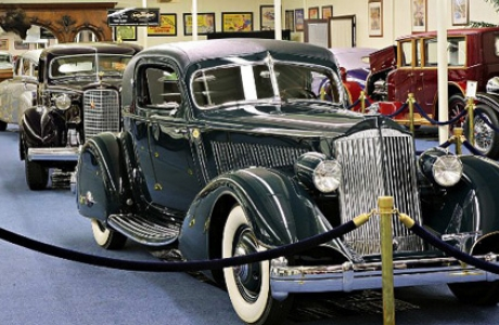Музей винтажных автомобилей в Imperial Palace