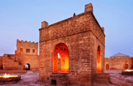 Атешгях - древний храм огнепоклонников