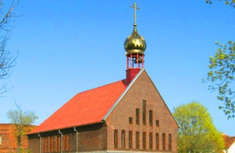 Православный Всехсвятский храм в Клайпеде