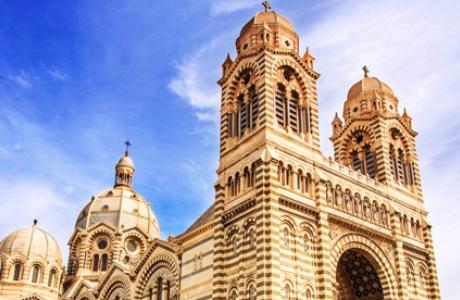 Кафедральный Собор Богоматери в Марселе