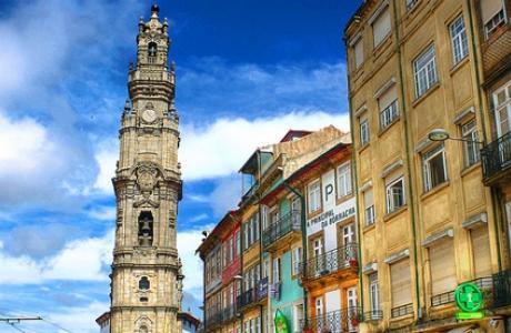 Церковь и Башня Клеригуш в Порту