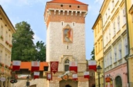 Флорианские ворота в Кракове