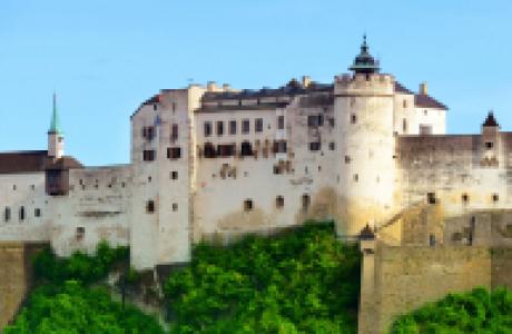 Крепость Хоэнзальцбург фото