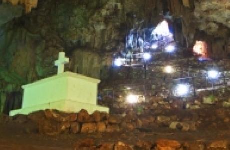 Пещера Мелидони или «Геронтоспилиос»