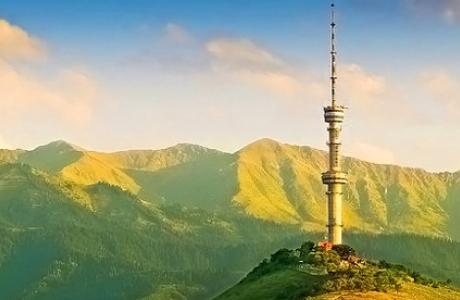 Гора Кок-тюбе и Телевизионная башня