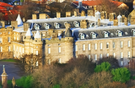 Дворец Холирудхаус