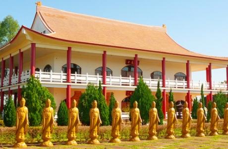 Буддийский храм в Фос-ду-Игуасу